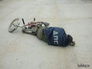 Пьяные велосипедисты