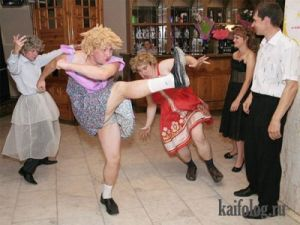 Веселые танцы