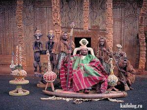 Королевские семьи Африки