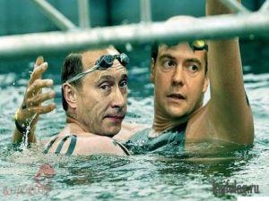 Президенты на олимпиаде