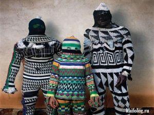 А вот мода из Африки