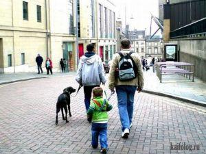 Любящие родители или как гулять с детьми