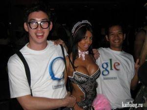 Приколы от Google и Яндекс