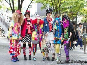 Как одевается японская молодежь