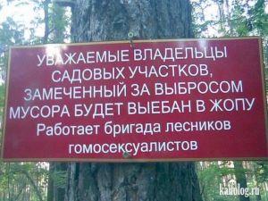 Запреты и предупреждения по-русски