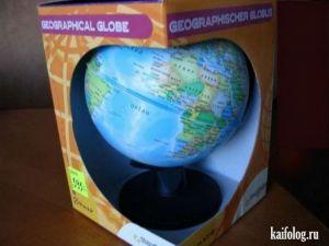 Веселый китайский глобус