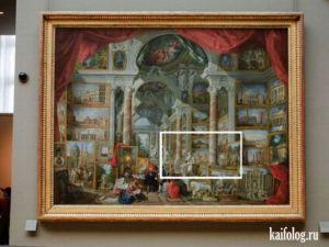 Оптические открытия на картинах