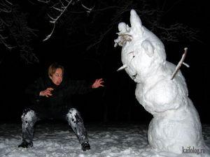 Пьяные снеговики
