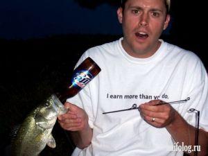 Приколы про рыбалку. Часть-4