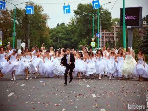 Прикольные и неудачные свадебные фото