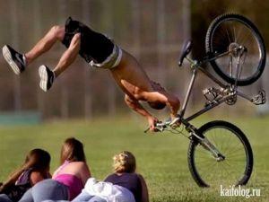 Велосипедисты-неудачники