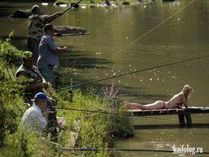 Приколы про рыбалку. Часть - 6