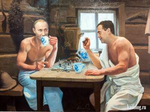 Картины медвепута Александра Акопова