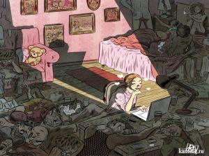 Страшные картинки и рисунки