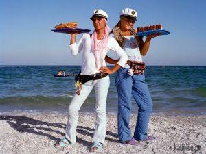 Пляжные торговцы