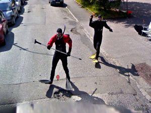 Приколы Google Street View. Часть - 2
