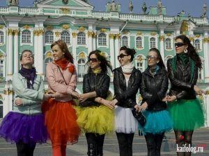 Девушки на девичниках