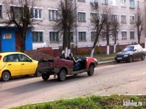 Суровый брянский кабриолет
