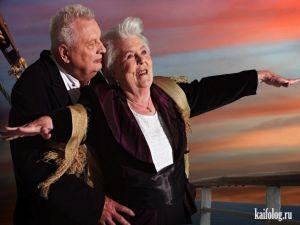 Пенсионеры из Германии воссоздали сцены фильмов
