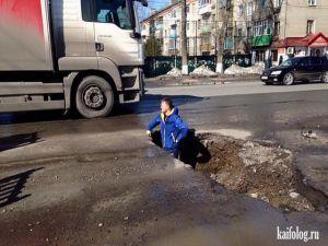 Суровые русские дороги