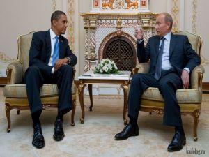 Putin VS Obama. Путин против Обамы. Часть-2
