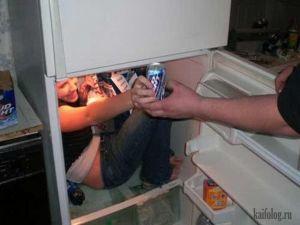 Прикольные холодильники