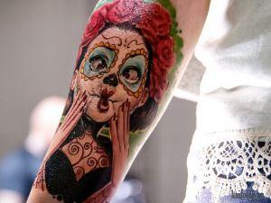 Прикольные и необычные тату