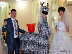 Вот это свадьбы!