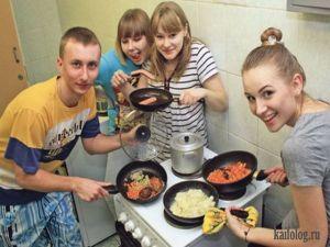 Российские общежития