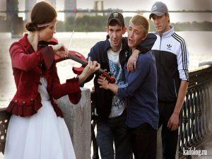 Смешные и позитивные русские фото