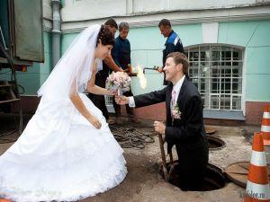 Ужасные и прикольные свадебные фото
