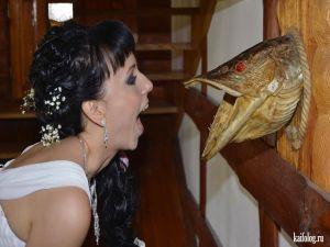 Свадебные фото бывают разные