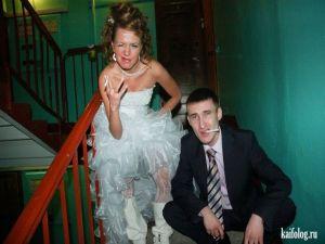 Приколы с русских свадеб
