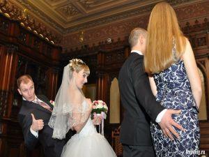 Реально прикольные свадебные фото