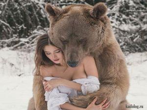 Суровые русские приколы про зиму
