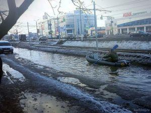 Весенний дорожный кошмар в России
