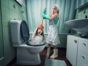 Когда обычные детские фото кажутся скучными