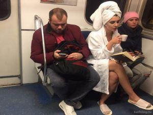 Странные обитатели российского метрополитена