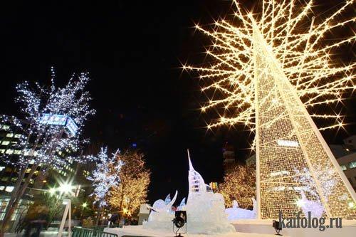 Снежный фестиваль Саппоро (Япония) 2009