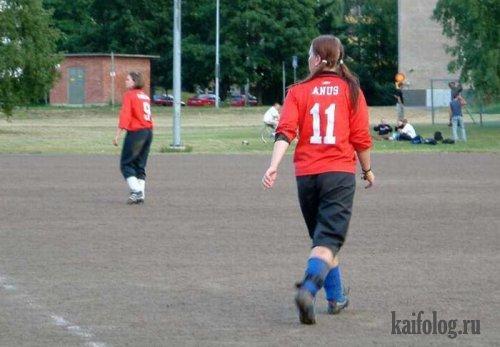 Спортивные приколы (9 фото)
