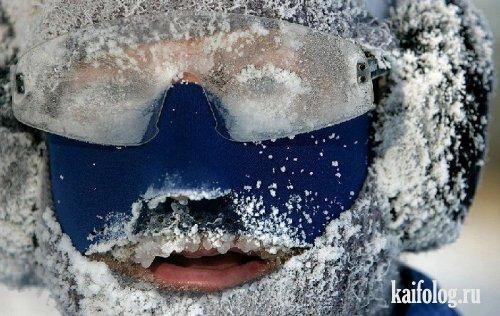 Расстаял снег или зимние воспоминания (15 фото)