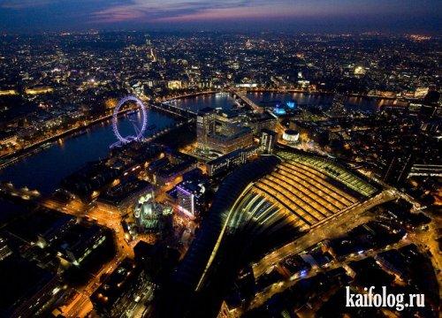 Лондон в ночи (10 фото)