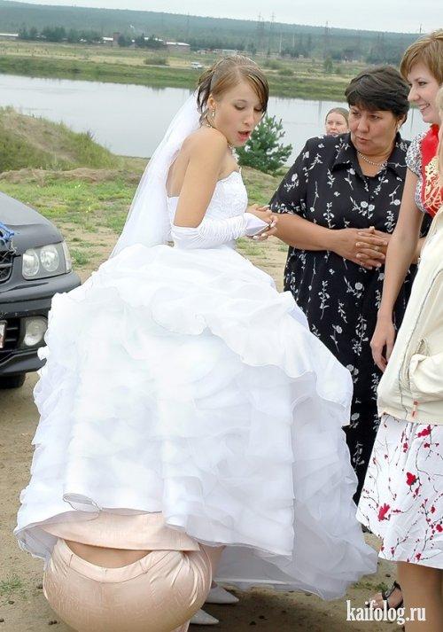Прикольные свадьбы (29 фото)