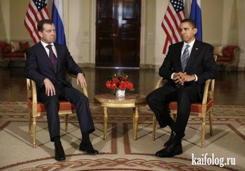 Прикольные президенты (15 фото)