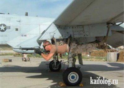 Чисто армейский юмор (14 фото)