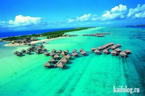 Полинезия. Бора-Бора (8 фото)