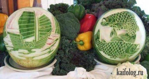 Art-овощи и фруты (25 фото)
