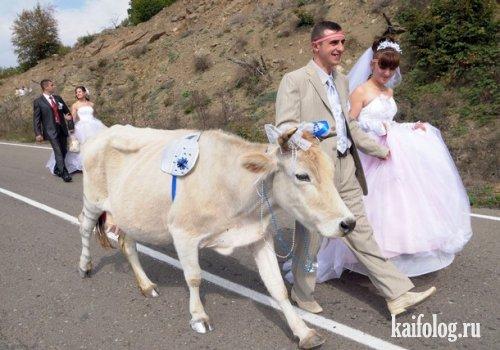 Грандиозная свадьба в Арцахе (6 фото)