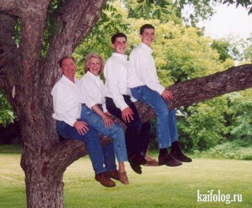 Самые нелепые семейные фото (12 фото)