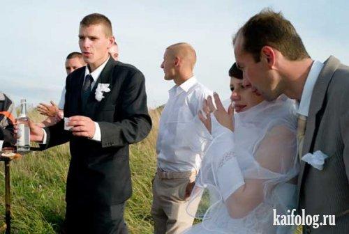 Деревенская свадьба (12 фото)